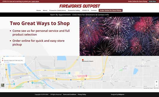Fireworks Outpost Home Page