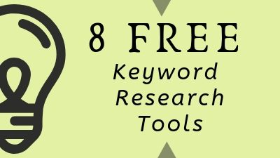 8 Free Keyword Research Tools