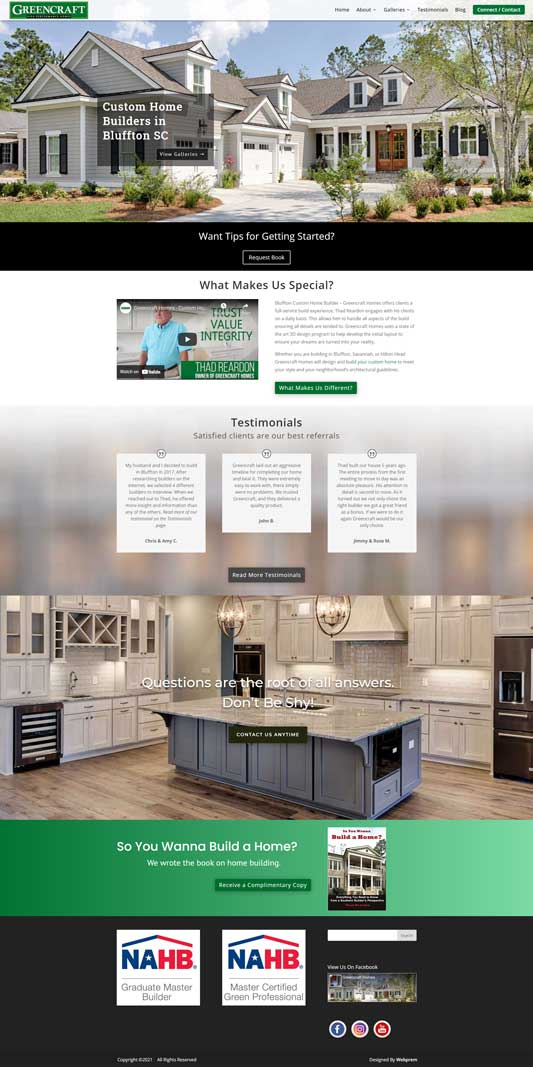 Greencraft Homes Home Page